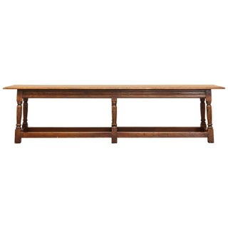 19th Century English Oak Joint Bench