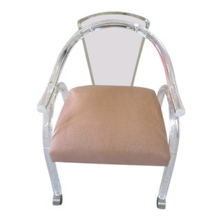 Vintage Modern Lucite Chair
