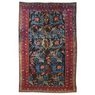 19th Century Floral Gharebagh Carpet