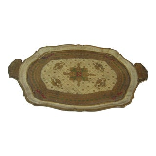 Florentine Tray With Handles