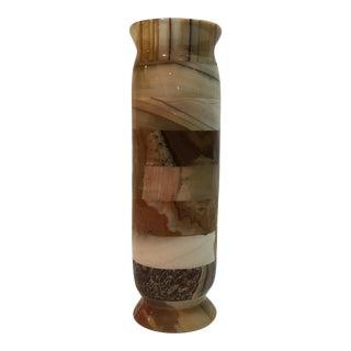 Vintage Onyx Layered Vase