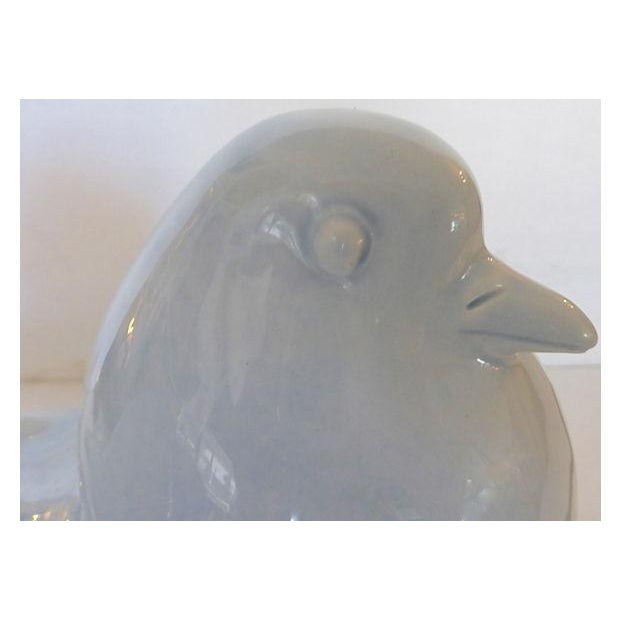 Image of Ugo Zaccagnini Ceramic Birds - Pair