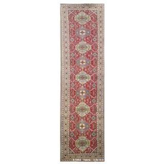 Vintage Persian Tabriz Rug - 3'5'' x 13'3''
