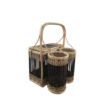 Wicker Picnic and Wine Basket