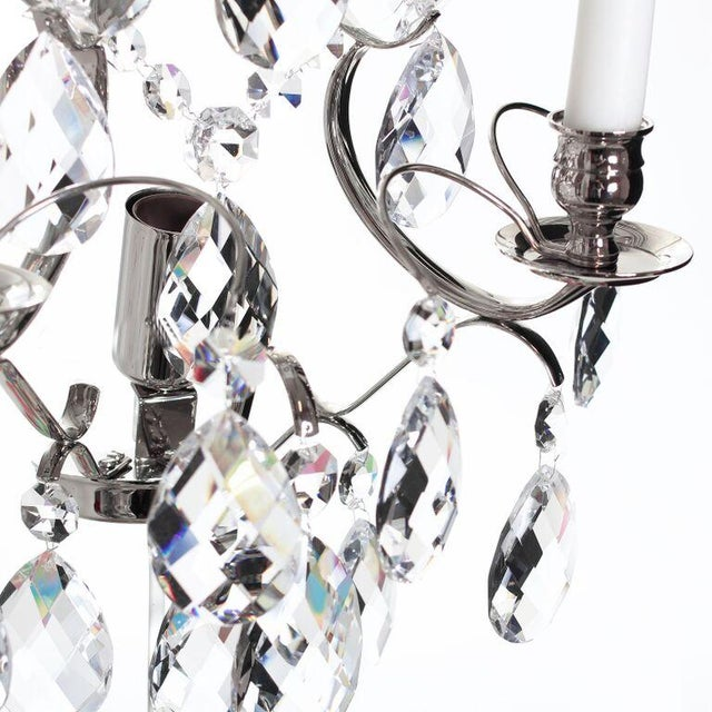 Wall Sconce - Chrome Baroque-Style - Image 2 of 3