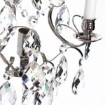 Image of Wall Sconce - Chrome Baroque-Style