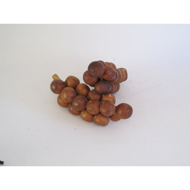 Image of Wooden Grapes - Pair