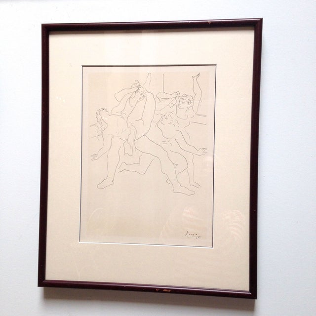 Image of Pablo Picasso Four Ballet Dancers Lithograph