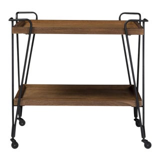 Alera Mobile Serving Bar Cart