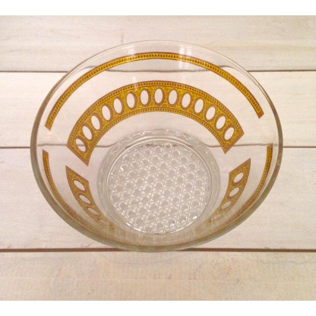 Vintage Culver Antigua Glass Bowls - A Pair - Image 5 of 8