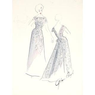 1950s Fashion Illustration by F. Gibson Bayh