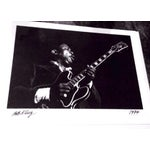 Image of Original Bb King Photograph Signed by Photographer
