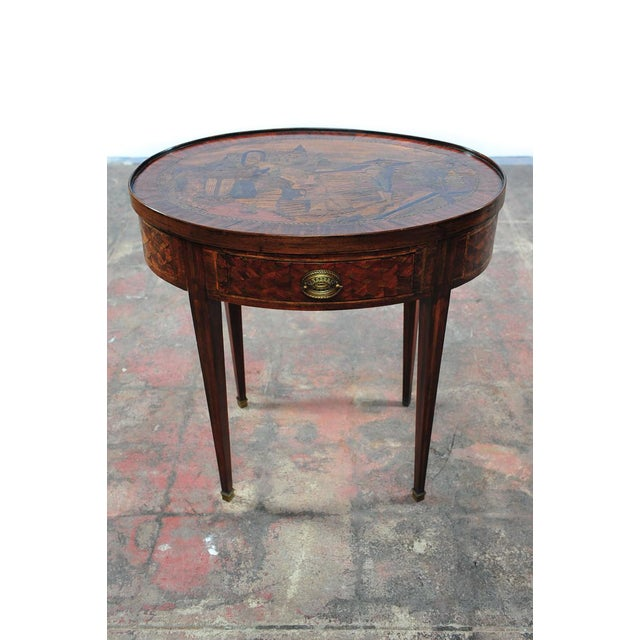 18th Century Oval Revolving Game Table - Image 3 of 10