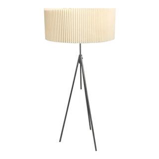 Michael Vanderbyl Tokay Chrome Floor Lamp