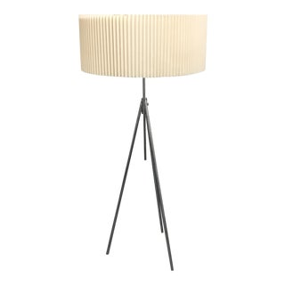 Michael Vanderbyl Tokay Chrome Floor Lamp