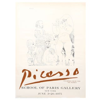 Pablo Picasso - School of Paris Gallery Poster
