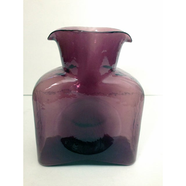 Image of Blenko Vintage Amethyst Pitcher/Carafe
