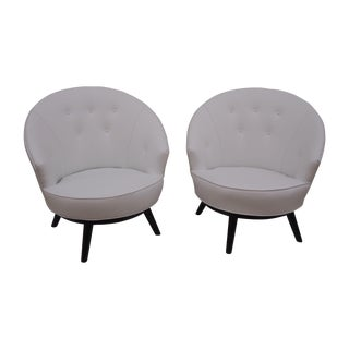 Conant Ball Chairs by Leslie Diamond - A Pair