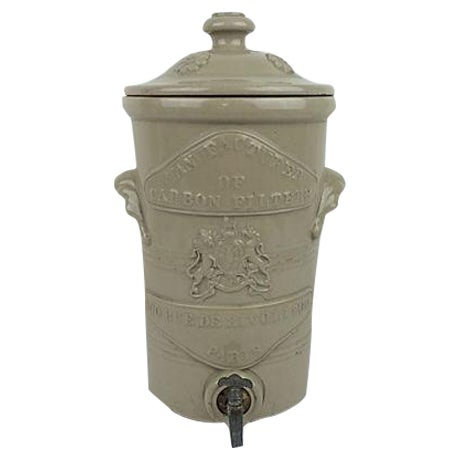 Paris Stoneware Water Filter & Dispenser - Image 1 of 5