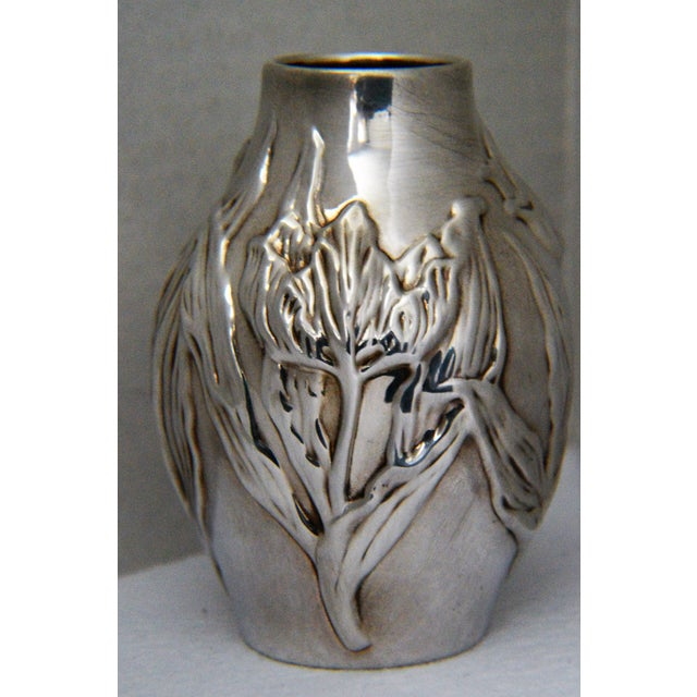 Louis Comfort Tiffany & Co.Sterling Silver Vase - Image 4 of 6