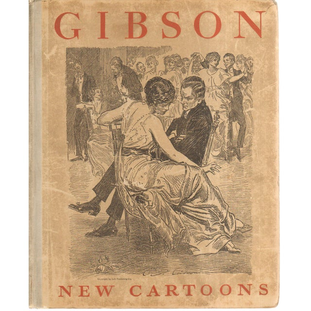 """Gibson Girl"" Cartoons, 1916 - Image 1 of 3"