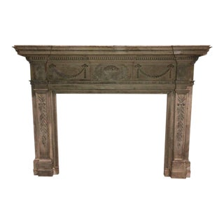 19th Century Federal Revival Fireplace Mantle