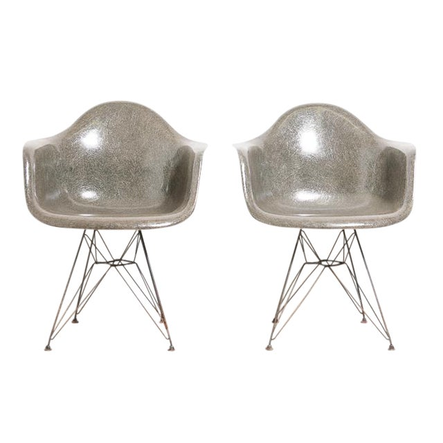 Image of 2nd Generation 1950's Eames Zenith Dar Chairs - 2