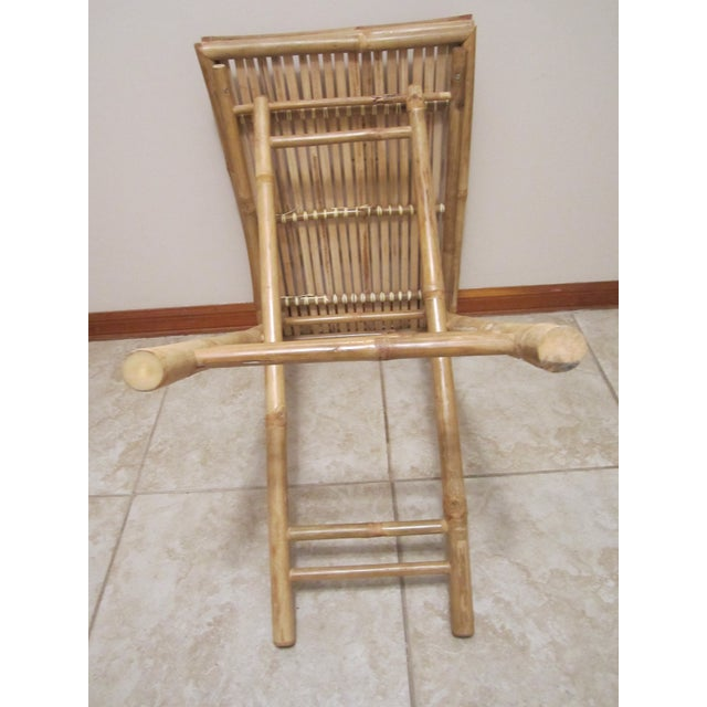 Bamboo & Rattan Table Tray - Image 8 of 11