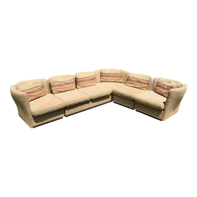 Mid Century Scandinavian Modular Sofa Sectional - Image 1 of 10