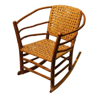 1940s American Old Hickory Co. Rocking Chair