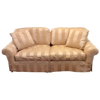Taylor King Striped Sofa