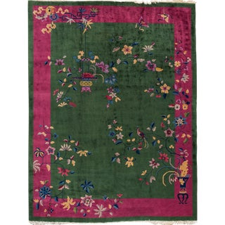 """Chinese Deco Rug - 9' x 11'7"""""""