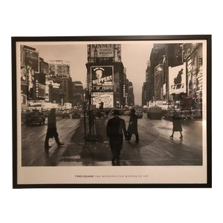 "Framed ""Times Square"" by Rudy Burckhardt"