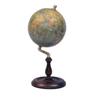 Antique English Philips Globe on Stand, Circa 1920'2