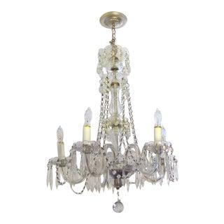 Traditional Vintage 5-Light Crystal Chandelier