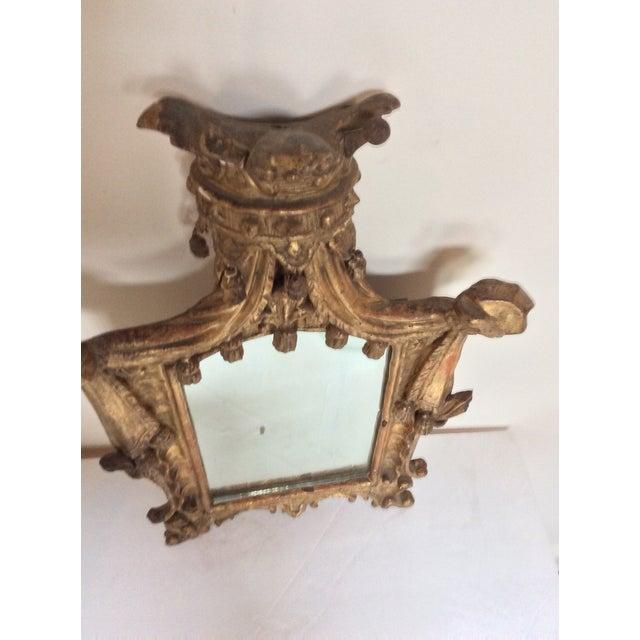 18th Century French Tassel Mirror - Image 7 of 11