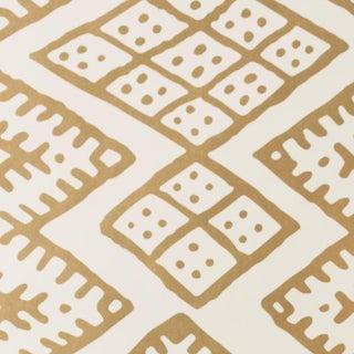 Turkish Kilim Gold Wallpaper