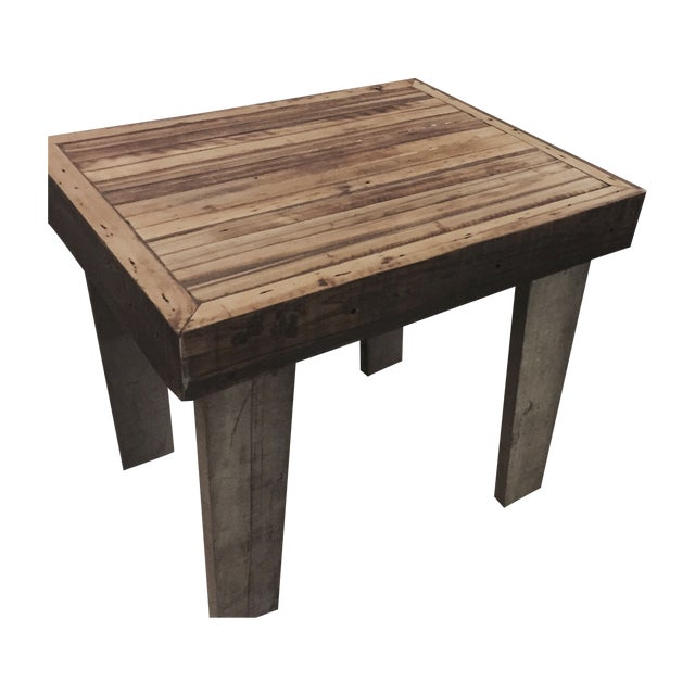 Reclaimed Wood Kitchen Island - Image 1 of 3