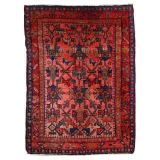 1920s Antique Persian Malayer Rug- 3′8″ × 5′