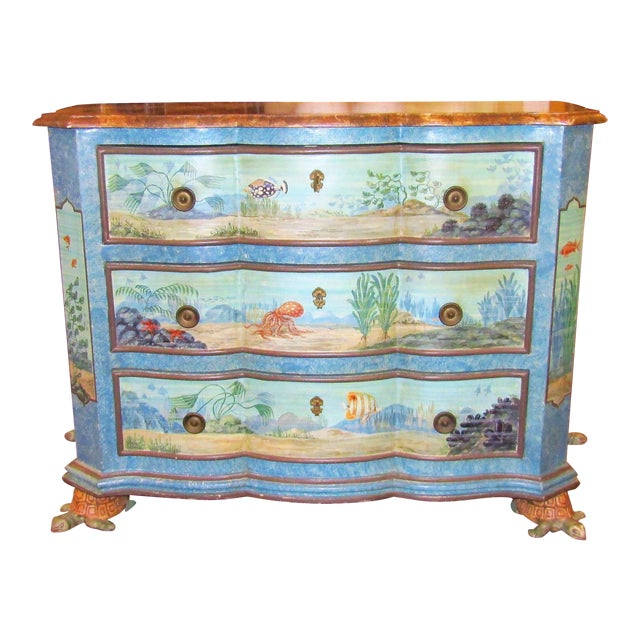 """""""Sea Life"""" Chest of Drawers - Image 1 of 6"""