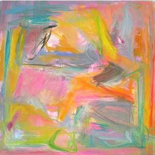 """""""Midday Miami"""" Abstract Painting by Trixie Pitts"""