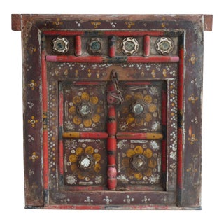 Hand Painted Nepalese Door