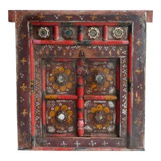 Hand Painted Nepalese Door