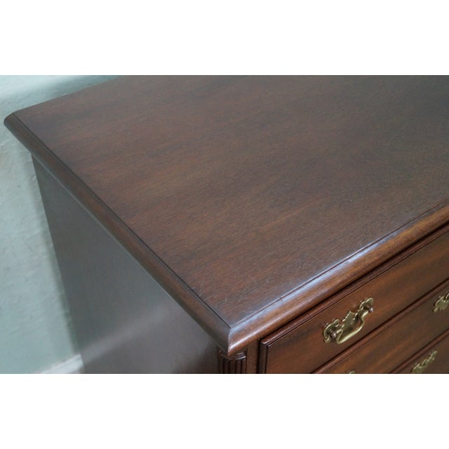 Kittinger Old Dominion Mahogany Chippendale Style Chest of Drawers Chest - Image 6 of 10