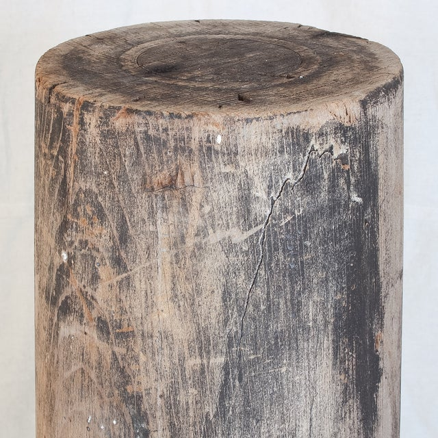 Antique Redwood Column - Image 5 of 8