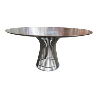Warren Platner for Knoll Rosewood Dining Table