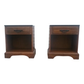 A. Brandt Ranch Oak Nightstands - A Pair