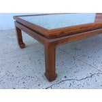 Image of 1960's James Mont Style Large Coffee Table