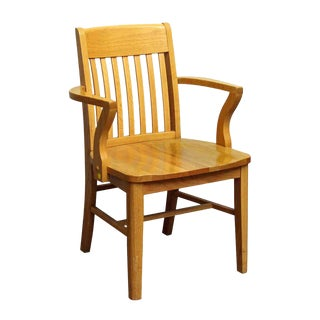 Single Light Wooden Chair