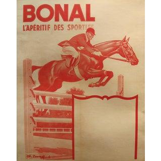 Vintage Original French 1930s Horseback Riding Poster